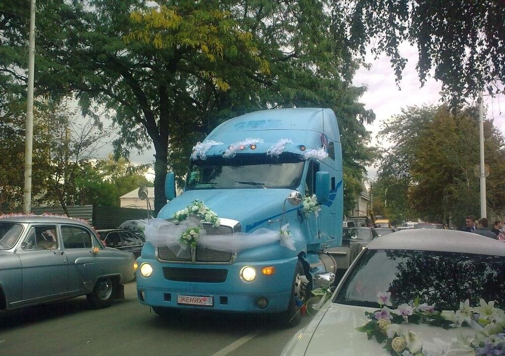 Транспорт необычный на свадьбу Нижний—Новгород