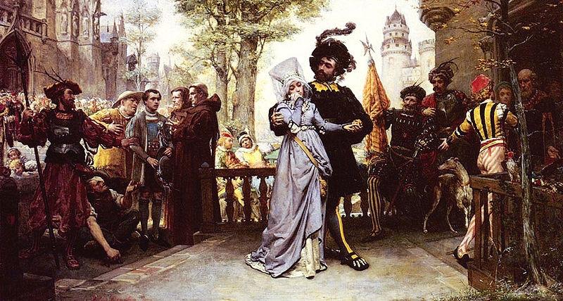 Романтика средневековья картины