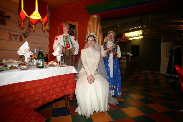 Свадьба в стиле царской России