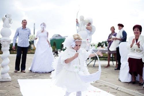 Чем занимаются дети на свадьбе