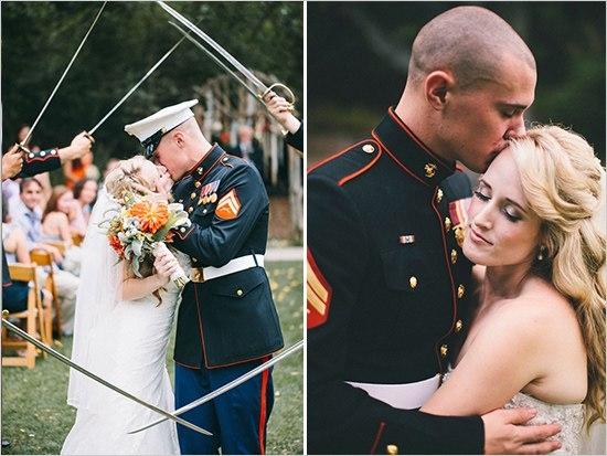 Свадьба в военном стиле сценарий