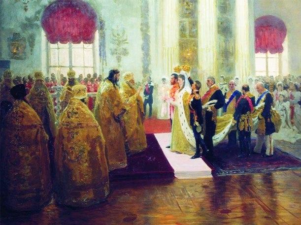 Первая брачная ночьво времена царей