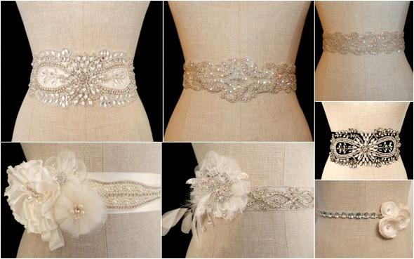 Свадебный пояс невесты