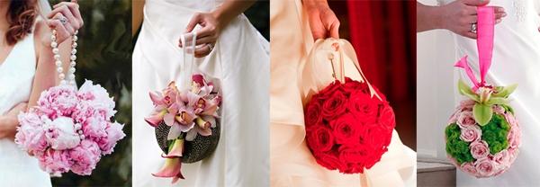 Свадебный букет с камнями