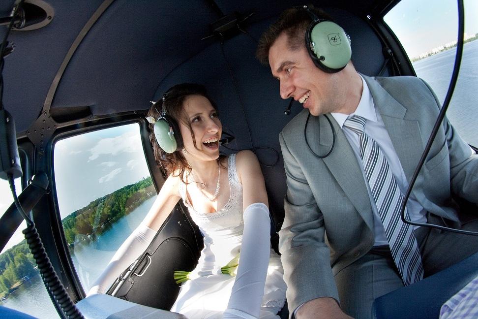 Вертолеты на свадьбу в нижнем Новгороде