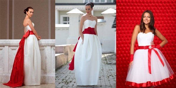 Как обыграть белое платье?