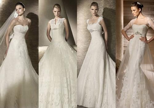 Стиль и специфика свадебных платьев 2015