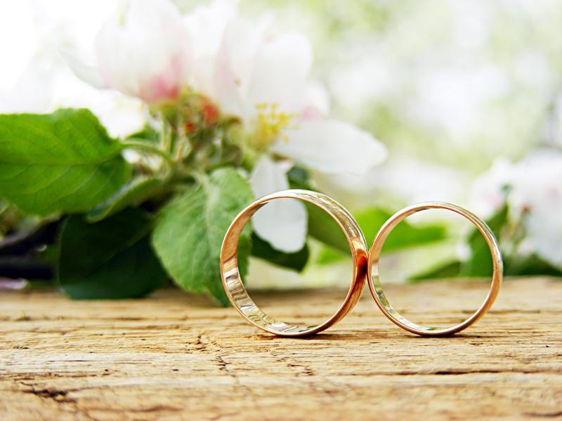 Обручальные кольца 750 пробы