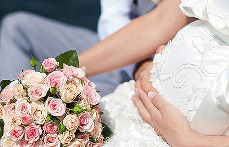 Беременной с днем свадьбы 71