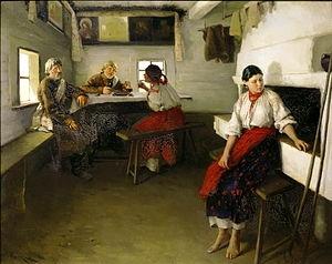 Свадебные платья старорусских обрядов