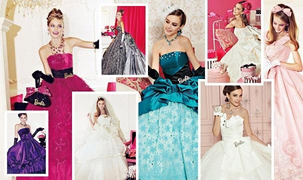 Свадьба в стиле Барби
