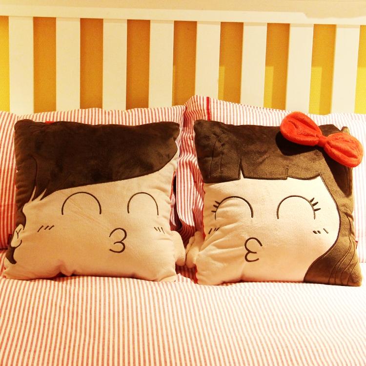 Парные подушки своими руками