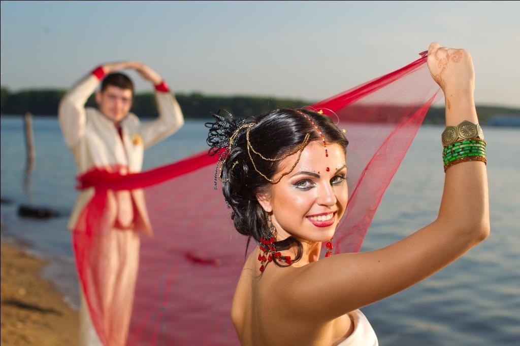 Свадебный образ в восточном стиле