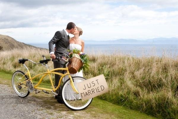 Велосипедная свадьба в нижнем Новгороде
