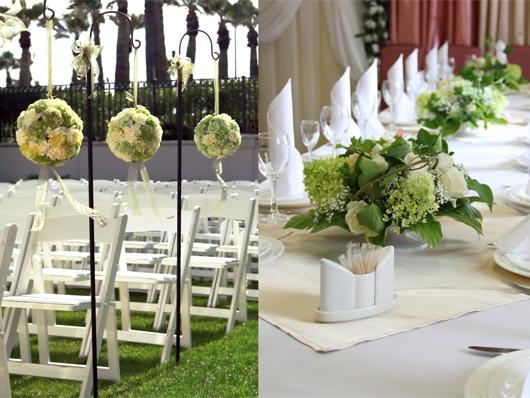 Свадебные оформления 2015