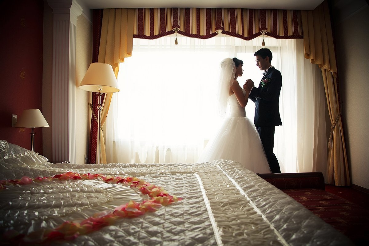 Первая брачная ночь фото