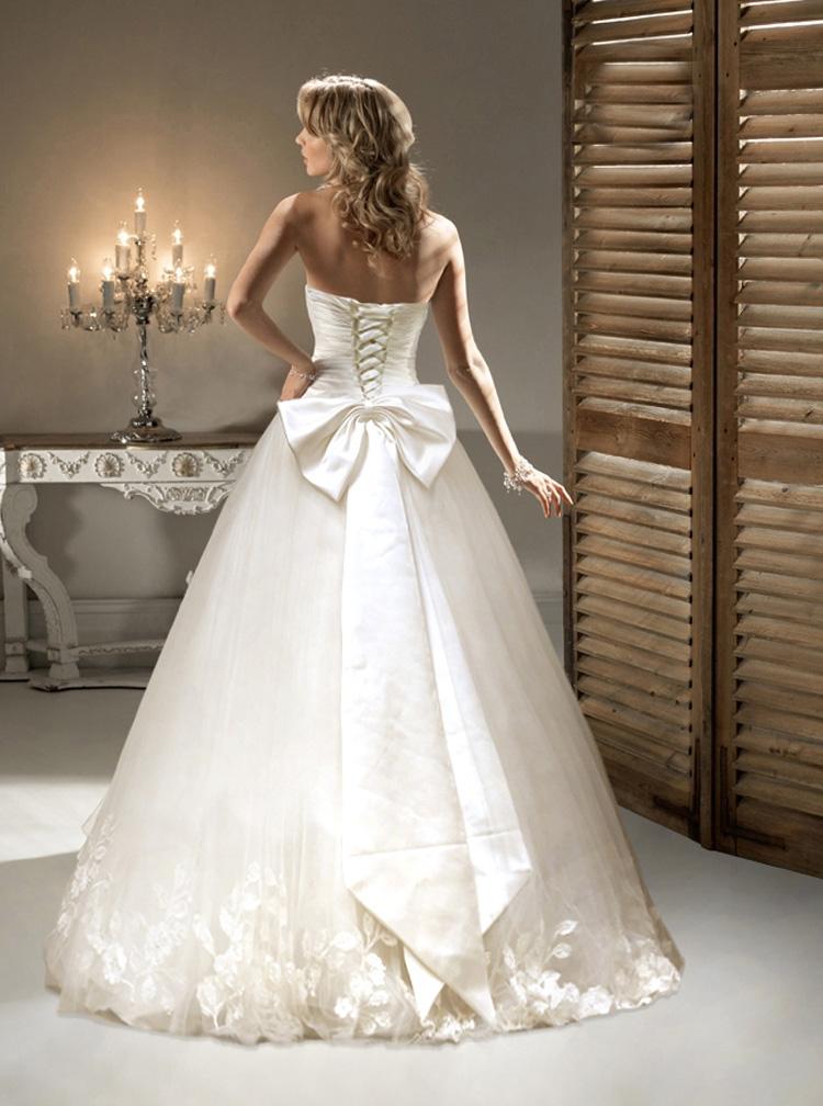 Свадебное платье спина на шнуровке