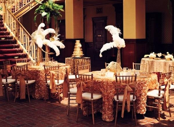 Свадьба в стиле 20 Х. Годов