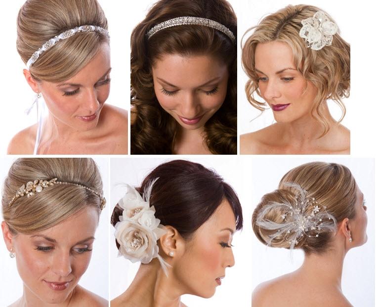 Свадебные аксессуары для волос