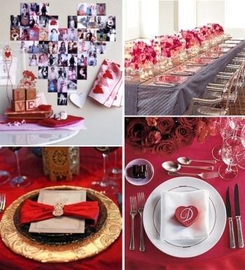 Оформление зала на деня СВ Валентина