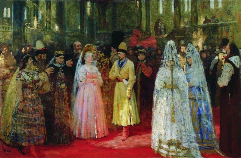 Свадьбы царей