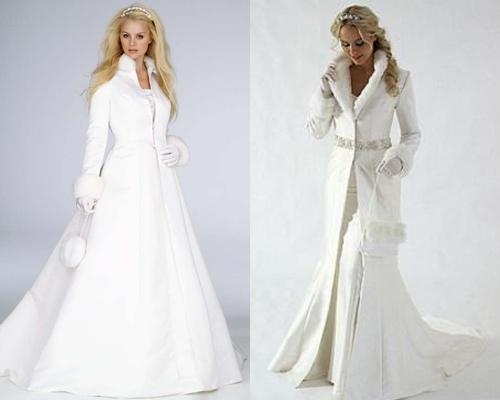 Свадебные пальто