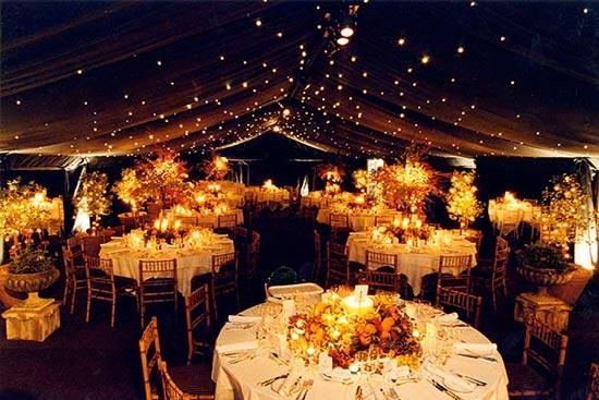 Освещение на свадьбе