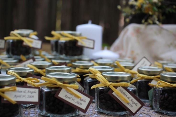 Вазочка в подарок гостям свадьба