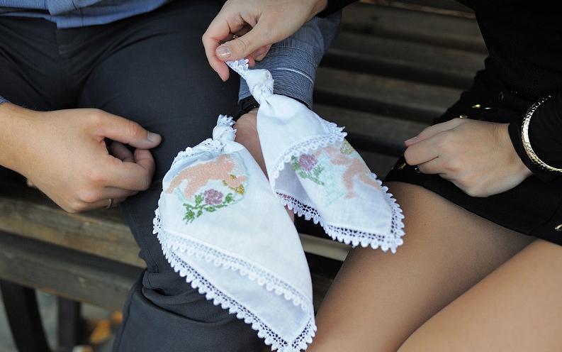 Купить ситцевый платок на годовщину свадьбы
