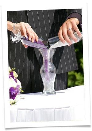 Колбы свадебные с крупой
