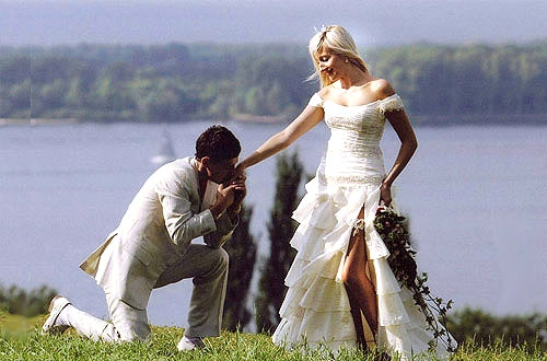 Свадьба на природе без шатра