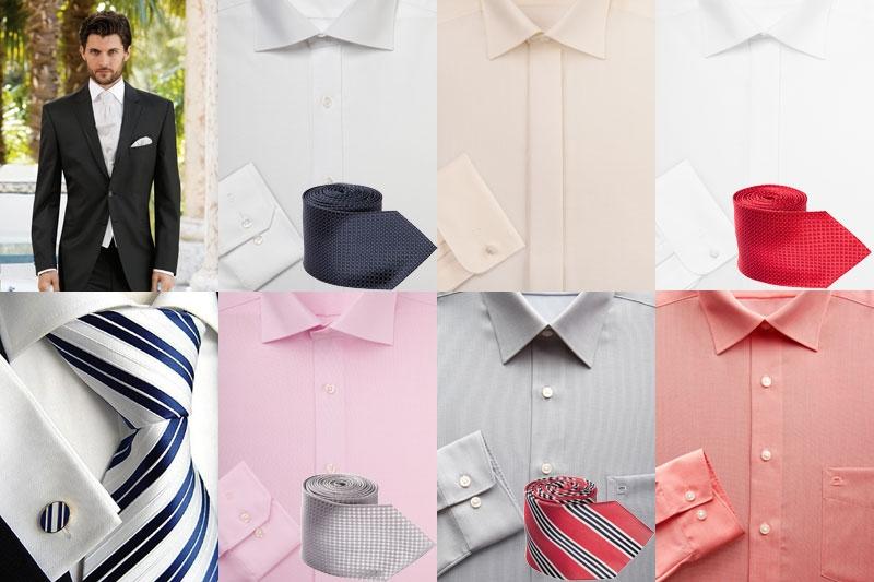 Традиционную белую рубашку достаточно заменить на яркую, и образ заиграет красками