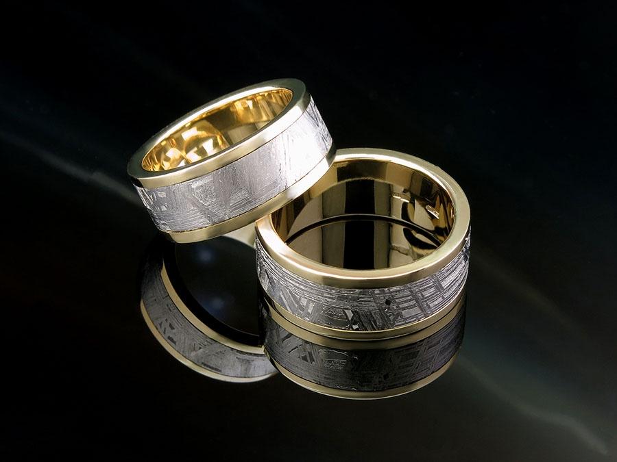 Необычные обручальные кольца. Изготовление на заказ.