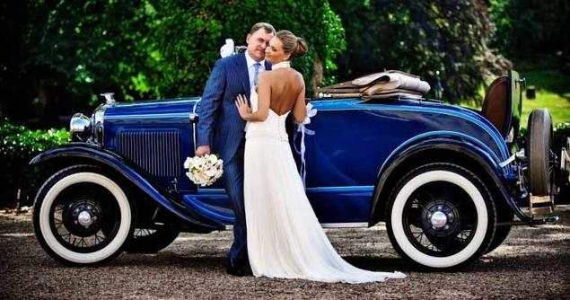 Украшение свадебных картежей напрокат