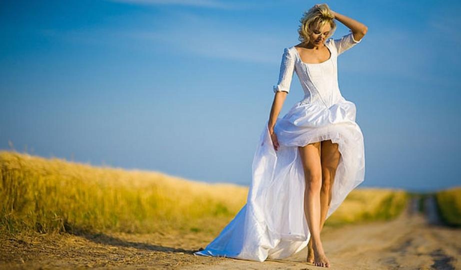 Как выйти красиво невесте к жениху?