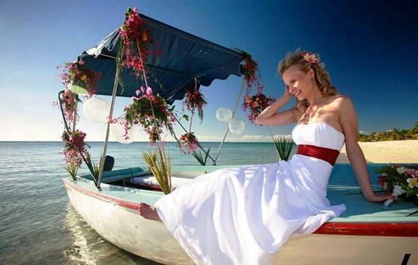 Необычное появление невесты