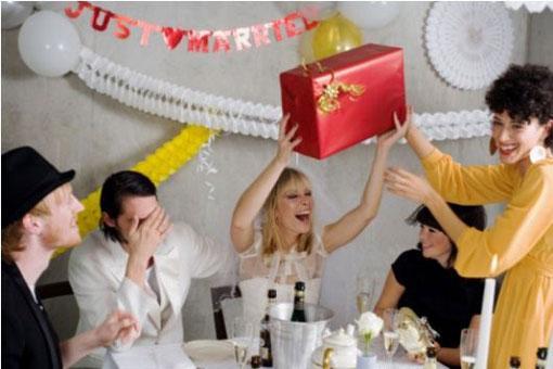Шуточные поздравления на свадьбе от гостей