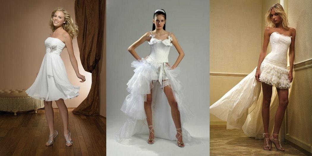 Платья необычные короткие