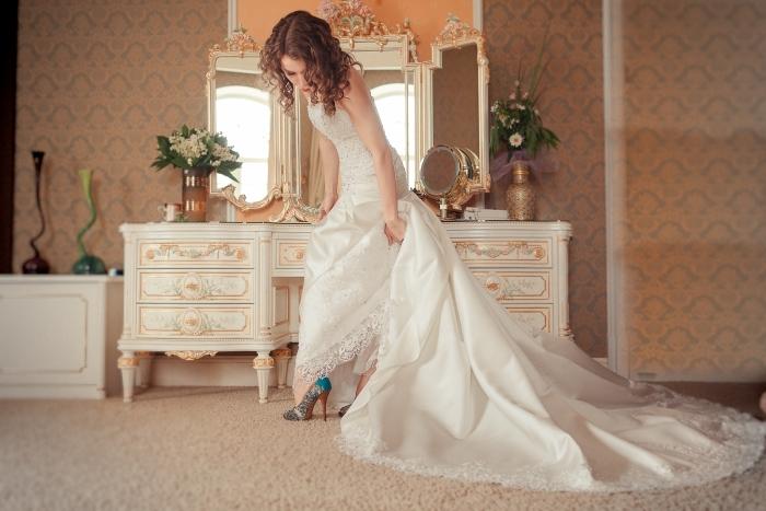Платья для утра невесты