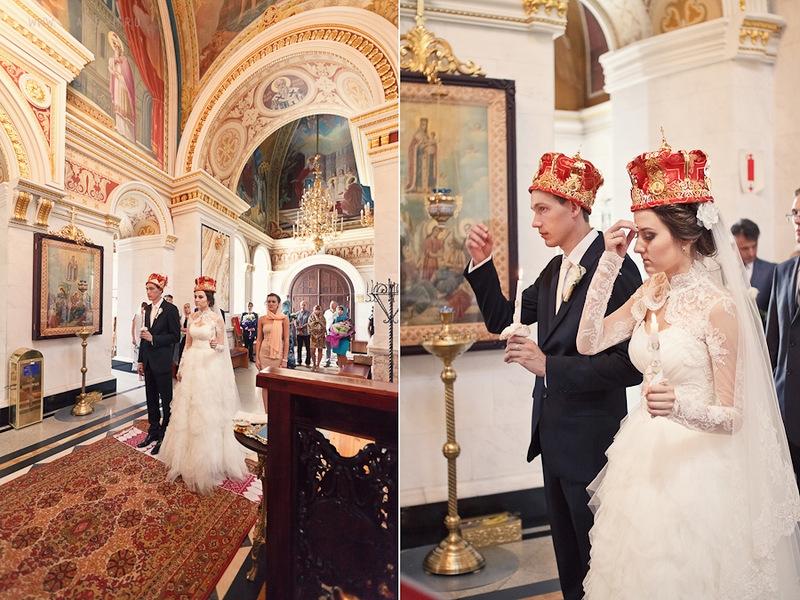 Одежда для венчания молодоженам