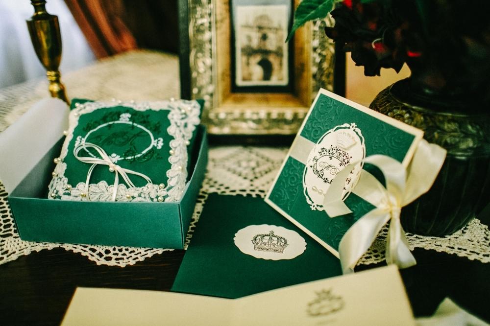 Свадьба в изумрудном цвете своими руками