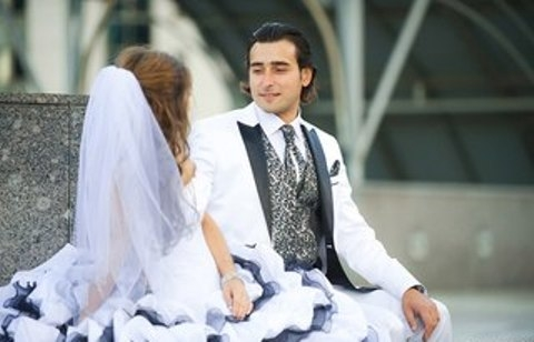 Свадьба в дамасском стил