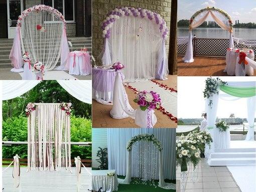 Свадебные арки 2016