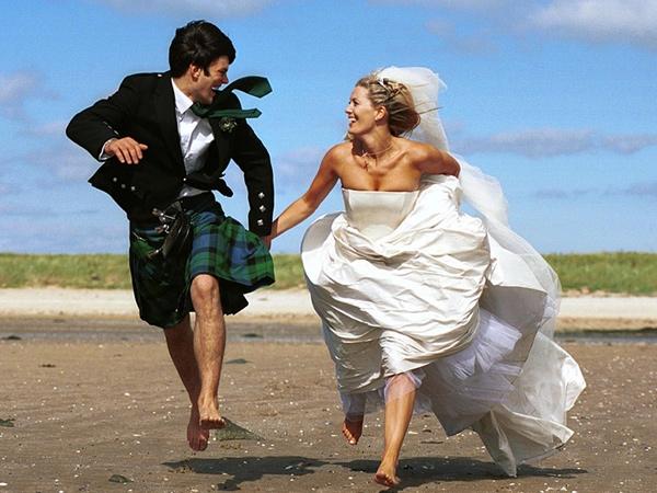 Как оригинально отпраздновать свадьбу?