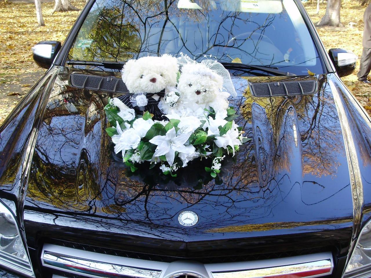 Фото идеи как украсить свадебный кортеж
