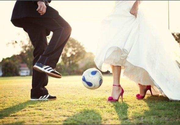 Свадьба в спортивном костюме