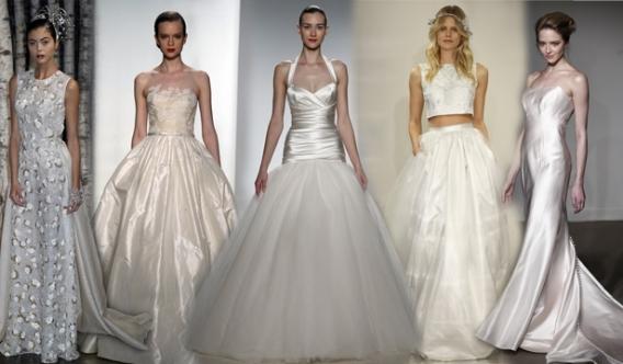 Свадебное платье с розовым низом