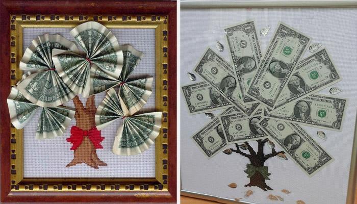 Подарок деньги в картине 21
