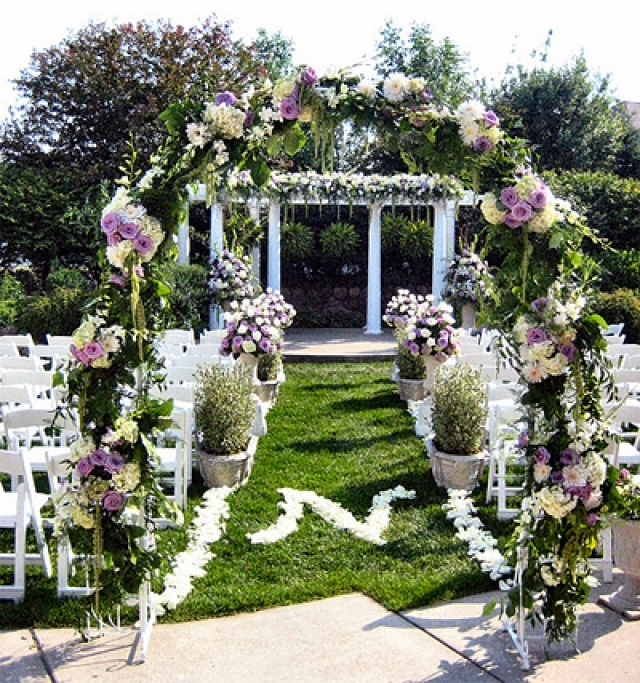 Свадьбы на природе фото