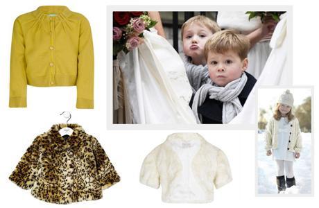 Какодеть ребенка зимой на свадьбу